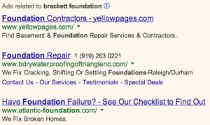 Brackett Foundation Ads